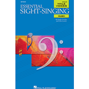 Essential Sight-Singing Volume 2 Male Voices