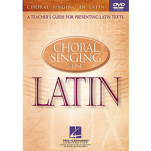 Choral Singing in Latin