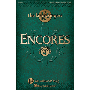 Encores - The King's Singers Colour of Song, Volume 4