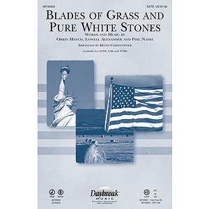 Blades of Grass and Pure White Stones