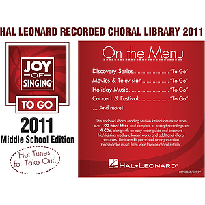 Hal Leonard Recorded Library (jos To Go) Middle School Edition
