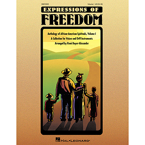 Expressions of Freedom Volume I (Anthology of African-American Spirituals)