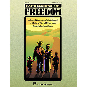 Expressions of Freedom Volume II (Anthology of African-American Spirituals)