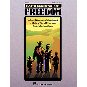 Expressions of Freedom Volume III (Anthology of African-American Spirituals)