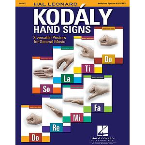 Hal Leonard Kodály Hand Signs
