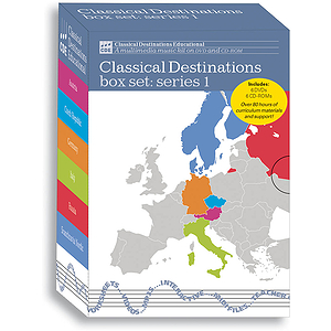 Classical Destinations: Boxed Set (6 Titles) (DVD)
