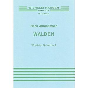 Abrahamsen Walden Wind 5tet No2 M/s Score