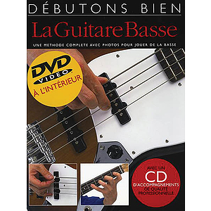 Debutons bien la guitare basse - Absolute Beginners Bass French Edition