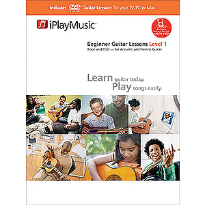 Beginner Guitar Lessons - Level 1 (DVD)