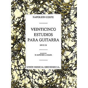 Coste: 25 Estudios Para Guitarra