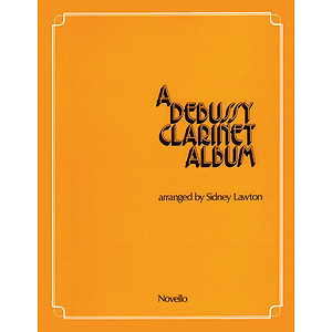 A Debussy Clarinet Album