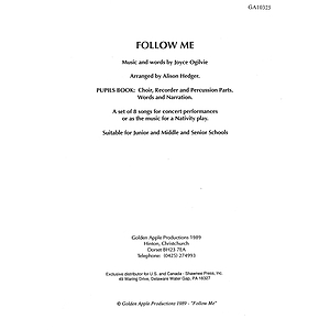 Joyce Oglivie: Follow Me (Pupil's Book)