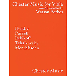 Chester Music For Viola