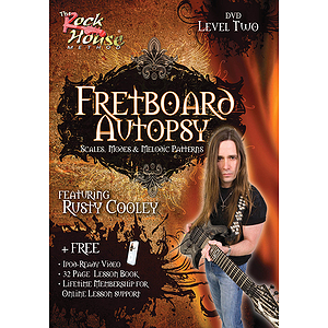 Rusty Cooley -¦Fretboard Autopsy (DVD)