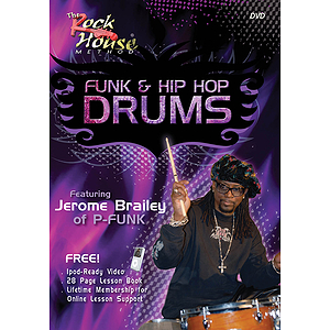 Jerome Brailey -¦Funk & Hip Hop Drums (DVD)