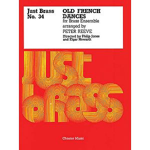 Old French Dances (arr. Reeve) - Score/Parts (Just Brass No.34)