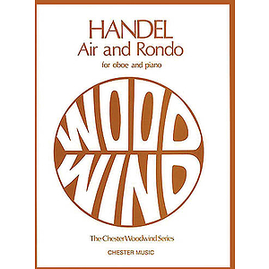 G.F. Handel: Air And Rondo For Oboe And Piano