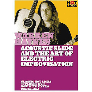 Warren Haynes - Acoustic Slide and the Art of Electric Improvisation