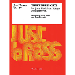 Chris Hazell: Three Brass Cats (Just Brass No.37)