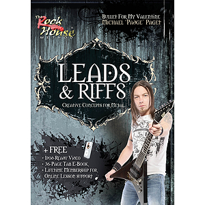 Michael Paget of Bullet for My Valentine -¦Leads & Riffs (DVD)