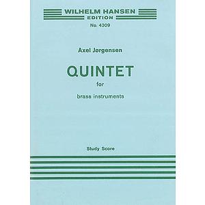 Jorgensen Quintet For Brass 2 Tpts/Hn/Tbn/Tba M/S