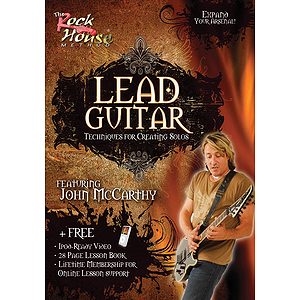 Lead Guitar - Techniques for Creating Solos (DVD)