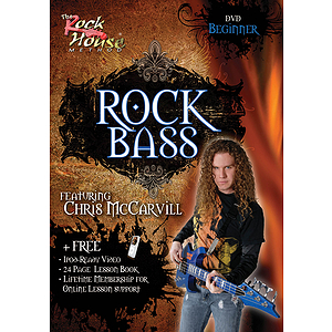 Chris McCarvill - Rock Bass (DVD)