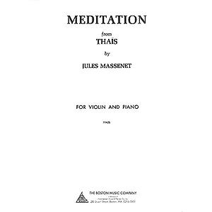 Meditation from Thaïs