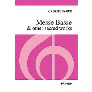Messe Basse & Other Sacred Works