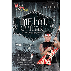 Dan Jacobs of Atreyu - Metal Guitar (DVD)