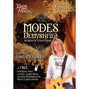 Modes Demystified - Secrets of Lead Guitar (DVD)