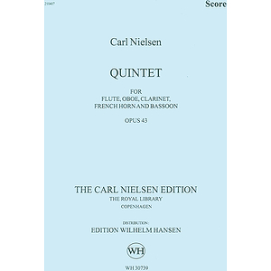 Carl Nielsen: Wind Quintet Op.43 (Score)