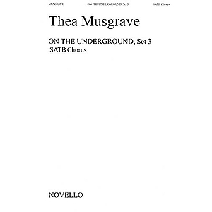 Thea Musgrave: On The Underground, Set 3