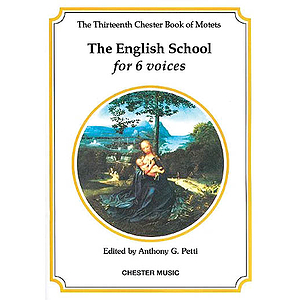 The Chester Book of Motets - Volume 13