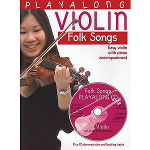 Playalong Violin: Folk Songs
