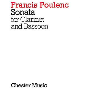 Francis Poulenc: Sonata For Clarinet And Bassoon