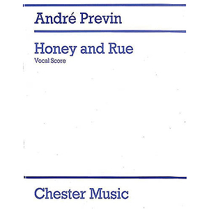 Andre Previn: Honey And Rue (Vocal Score)