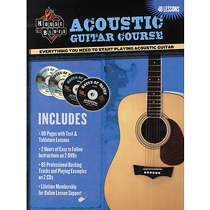 House of Blues - Acoustic Guitar Course (DVD)
