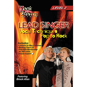 Lead Singer - Vocal Techniques: Pop to Rock (DVD)