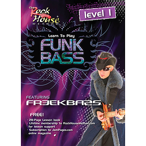 Freekbass - Learn to Play Funk Bass (DVD)