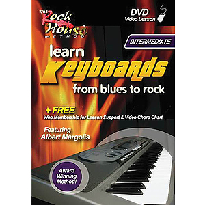 Albert Margolis - Learn Keyboards from Blues to Rock (DVD)