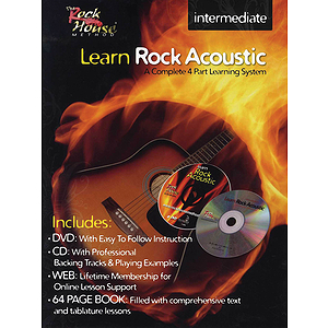 Learn Rock Acoustic - Intermediate Level (DVD)