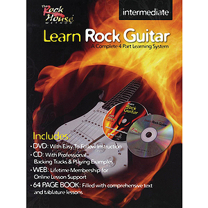 Learn Rock Guitar - Intermediate Level (DVD)