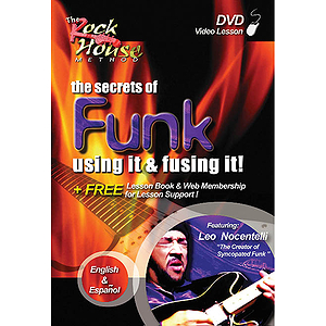 Leo Nocentelli - The Secrets of Funk: Using It and Fusing It! (DVD)