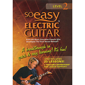 So Easy Electric Guitar - Level 2 (DVD)