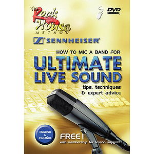 How to Mic a Band for Ultimate Live Sound (DVD)