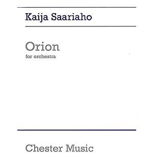 Kaija Saariaho: Orion (Full Score)