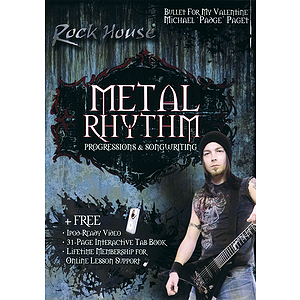 Michael Paget of Bullet for My Valentine -Metal Rhythm (DVD)