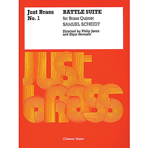 Samuel Scheidt: Battle Suite (Just Brass No.1)