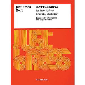 Samuel Scheidt: Battle Suite (Just Brass No.1)